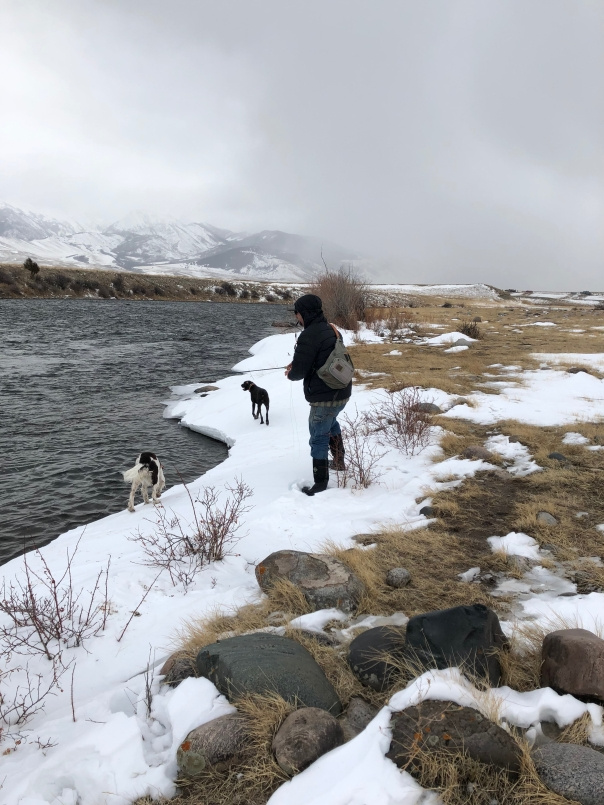 Winter Nymph Fishing the Madison River